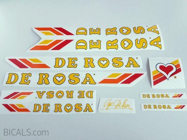 Set 4 Columbus SL De Rosa Bicycle Decal Transfer Sticker