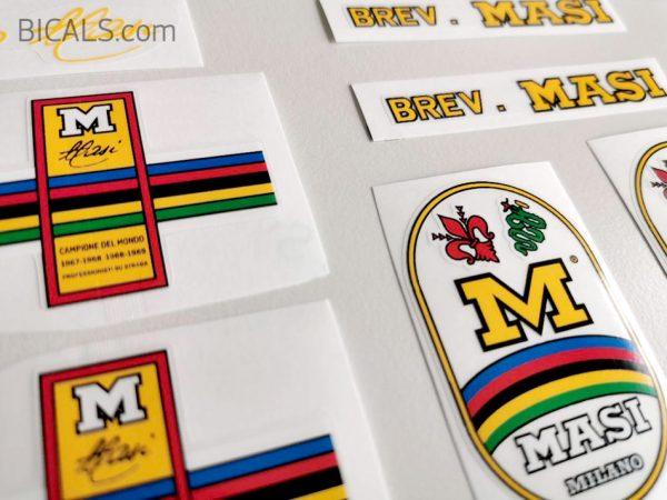 Masi Gran Criterium Bicycle Decals Transfers Stickers Set 4