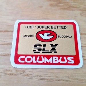Columbus slx tube decal