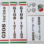 Gios Torino decal set