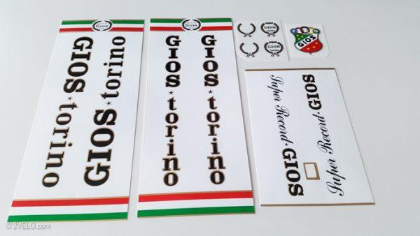 Gios Torino decal set – 2velo-155907