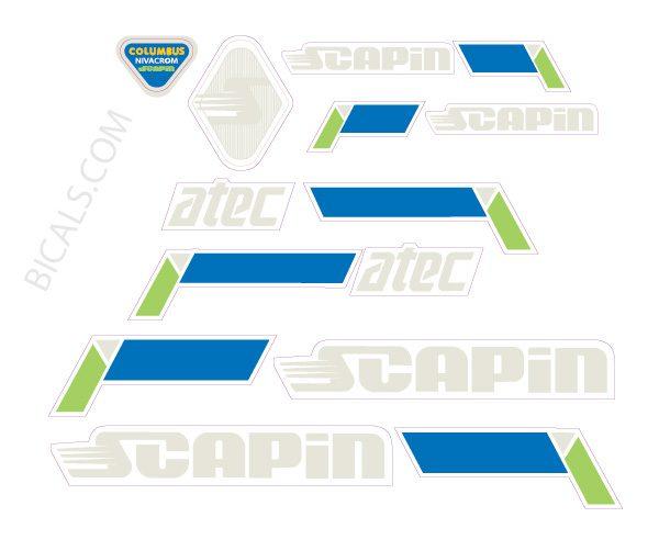 Scapin Decalset Altec 2-01