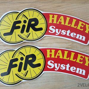 FIR halley system wheel decals