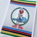 Wiener bicycle decal set