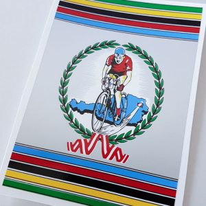 Wiener bicycle decal set