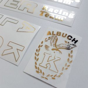 Albuch Kotter white decal set BICALS 1