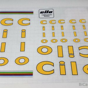 CILO Swiss yellow decal set BICALS 1