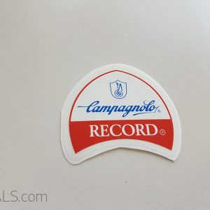 Campagnolo 80s RECORD decal BICALS