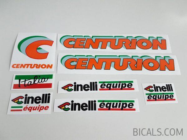 Centurion cinelli equipe decal set BICALS