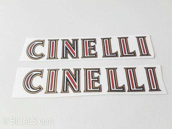 Cinelli V1 decal set BICALS