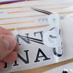 Colnago master decal set V2 white letters black outline BICALS 3