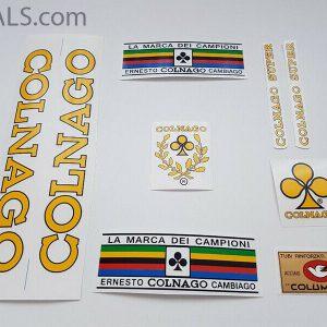 Colnago yellow decal set 71-74 BICALS 1