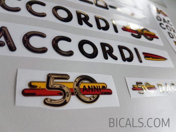 Daccordi 50th decal set BICALS 1
