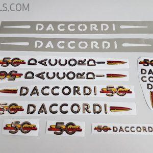 Daccordi 50th decal set BICALS