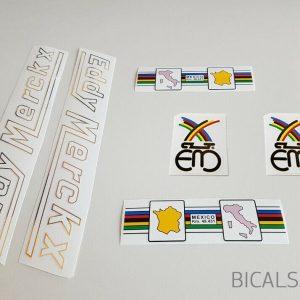 Eddy Merckx early 80s decal set BICALS