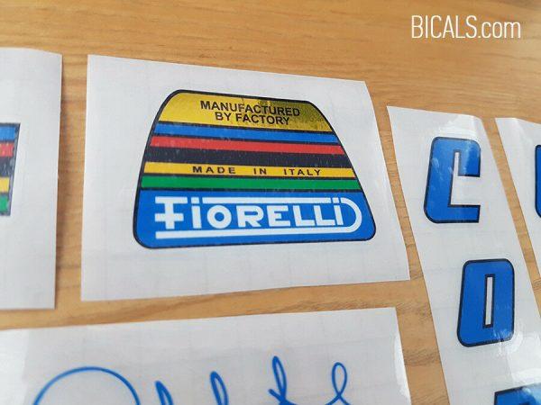 Fausto Coppi decal set blue BICALS 2