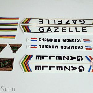 Gazelle Champion Mondial decal set BICALS