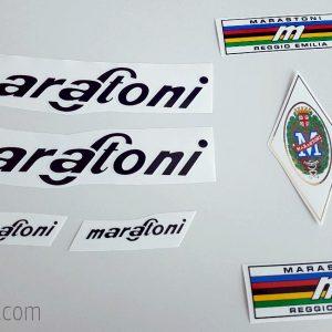 Marastoni black decal set BICALS 1