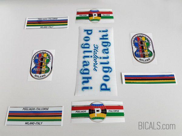 Pogliaghi 50s – 60s blue decal set BICALS 1