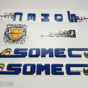 SOMEC pixel red decal set BICALS