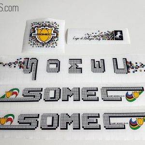 SOMEC pixel white decal set BICALS