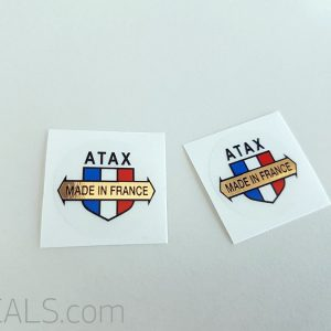 Atax stem decal BICALS