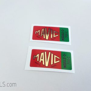 Mavic Module 3 700C green decal BICALS