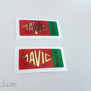 Mavic Module E2 green decal BICALS