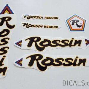 Rossin Record decal set BICALS