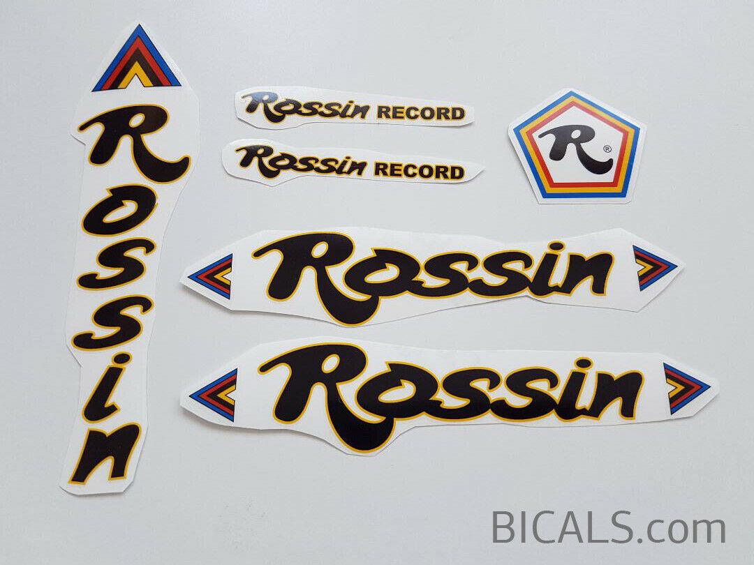 ADESIVI ROSSIN decals sticker bici