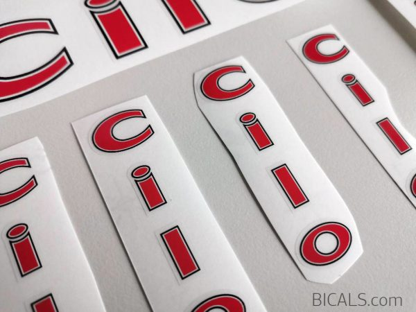 CILO Swiss red decal set BICALS 2