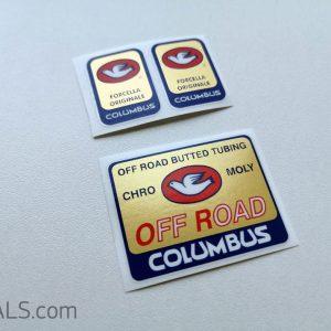 Columbus Off Road decal BICALS
