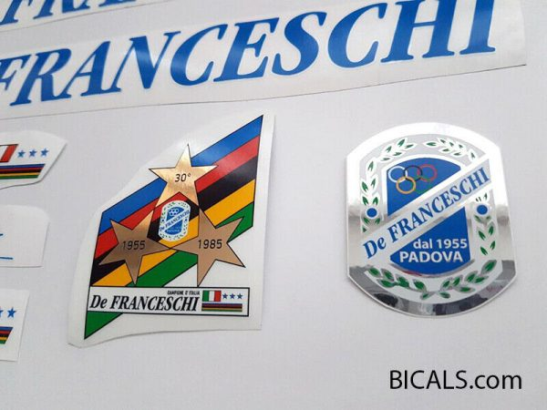 De Franceschi blue decal set BICALS 1