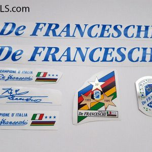 De Franceschi blue decal set BICALS 1
