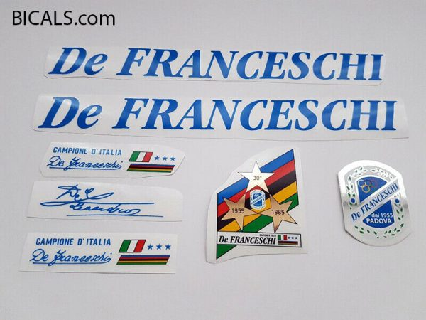 De Franceschi blue decal set BICALS