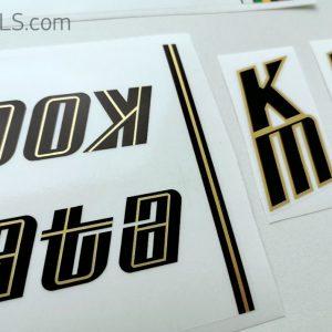 Koga Miyata decal set V1 BICALS 2
