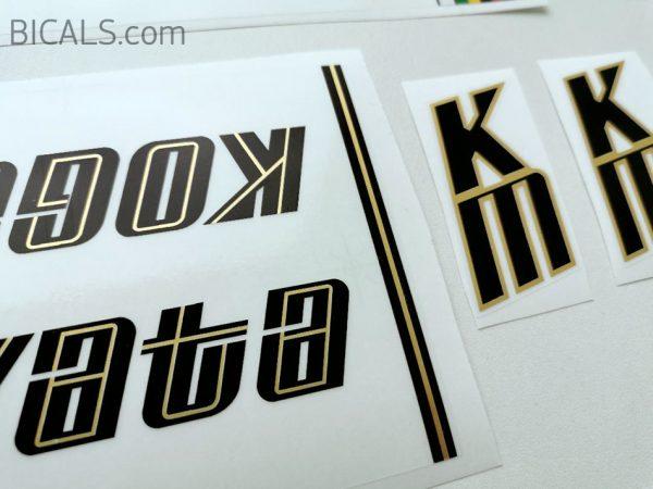 Koga Miyata decal set V1 BICALS 3