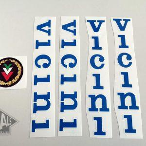 Vicini blue decal set BICALS