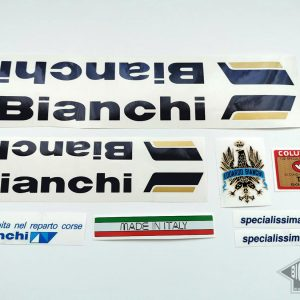 BIANCHI SPECIALISSIMA X4 decal set BICALS