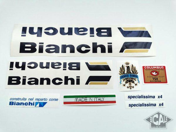 BIANCHI SPECIALISSIMA X4 decal set BICALS 1