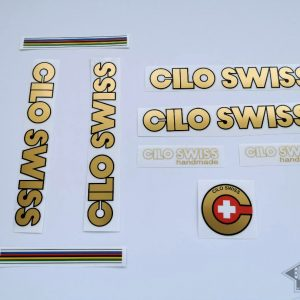 CILO Swiss gold decal set BICALS