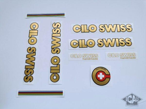 CILO Swiss gold decal set BICALS 3