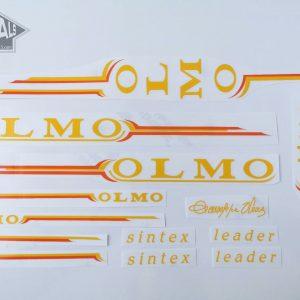 Olmo Sintex yellow orange decal set Bicals