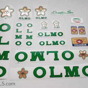 Olmo V2 green decal set Bicals