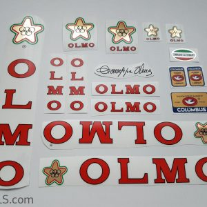 Olmo V2 red decal set Bicals