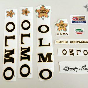 Olmo V4 SUPER GENTLEMAN decal set Bicals