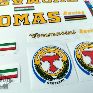 Tommasini Thomas decal set Bicals