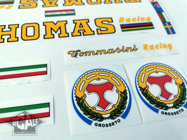 Tommasini Thomas decal set Bicals 2