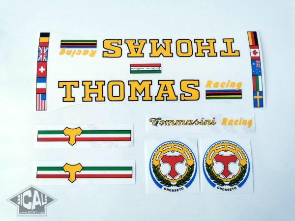 Tommasini Thomas decal set Bicals