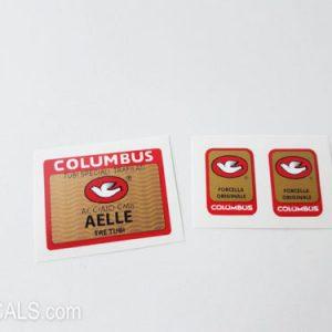 Columbus AELLE TRE TUBI decal BICALS